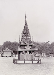 Tomb of King Thibaw's mother, [Mandalay]